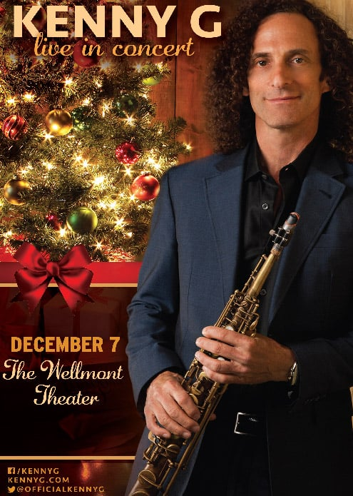 Kenny G Christmas.Kenny G Live In Concert The Wellmont Theater