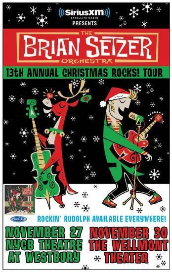 Brian Setzer Christmas.Siriusxm Presents The Brian Setzer Orchestra S 13th Annual
