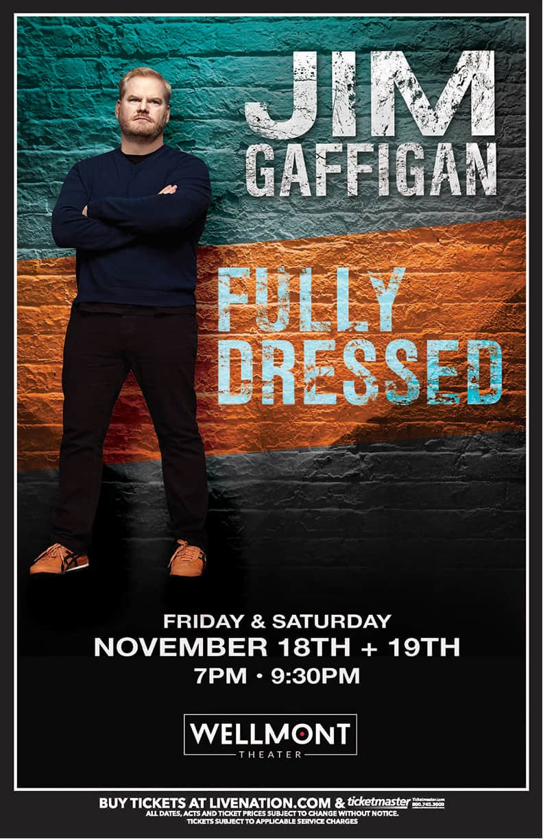 Jim Gaffigan - - The Wellmont Theater