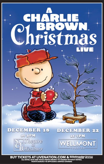 A Charlie Brown Christmas Book.A Charlie Brown Christmas The Wellmont Theater